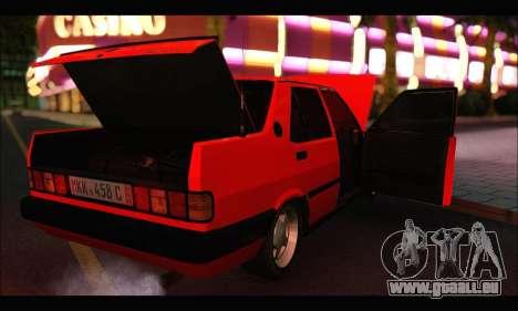 Tofas Dogan SLX Metalist (Arch Enemy) pour GTA San Andreas vue de côté