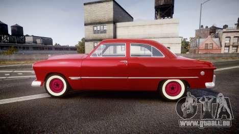 Ford Custom Tudor 1949 für GTA 4 linke Ansicht