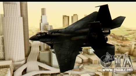 F-15 Razgriz für GTA San Andreas linke Ansicht