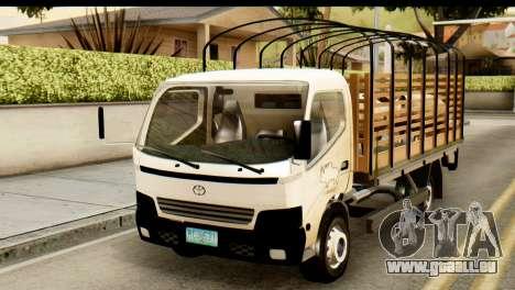 Toyota Dyna Truck Hog Dealer für GTA San Andreas
