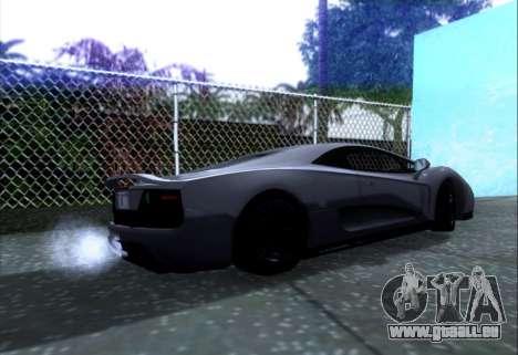 Scalfati GT (Watch Dogs) pour GTA San Andreas laissé vue