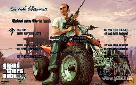 GTA 5 Menu pour GTA San Andreas deuxième écran