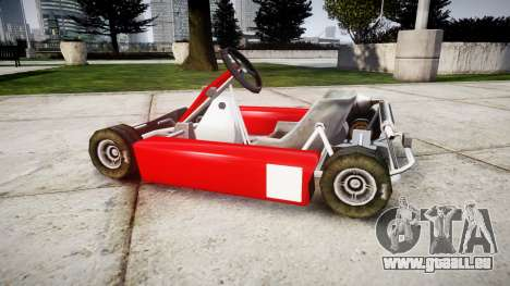 Go Kart für GTA 4 linke Ansicht