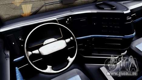 Volvo FH12 Low Deck pour GTA San Andreas sur la vue arrière gauche