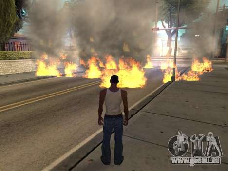New Realistic Effects 3.0 pour GTA San Andreas