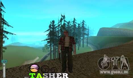 C-HUD Tasher für GTA San Andreas