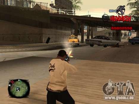 C-HUD Hennesy pour GTA San Andreas