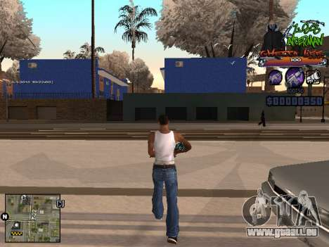 C-HUD Les Alterman für GTA San Andreas