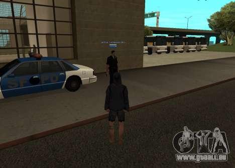 Neue HP color Spieler für GTA San Andreas dritten Screenshot