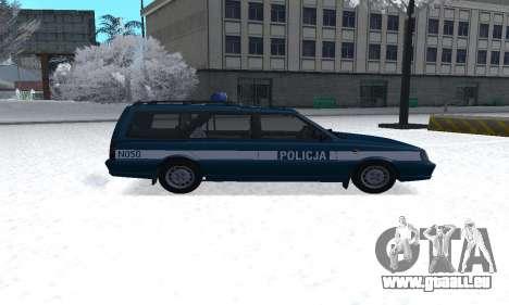 Daewoo-FSO Polonez Kombi 1.6 GSI Police 2000 pour GTA San Andreas laissé vue