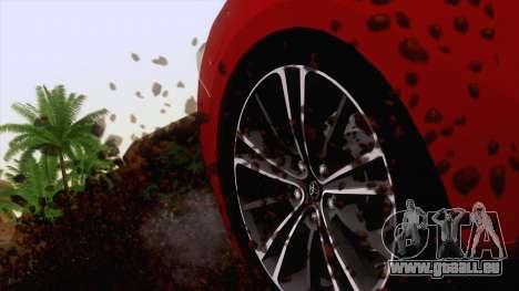 Toyota GT86 (ZN6) 2012 pour GTA San Andreas vue de dessus