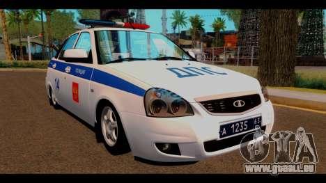 VAZ 2172 Police pour GTA San Andreas