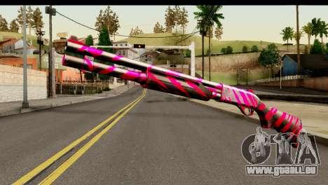 Red Tiger Shotgun für GTA San Andreas