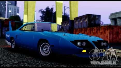 Plymouth Roadrunner Superbird RM23 1970 IVF für GTA San Andreas linke Ansicht