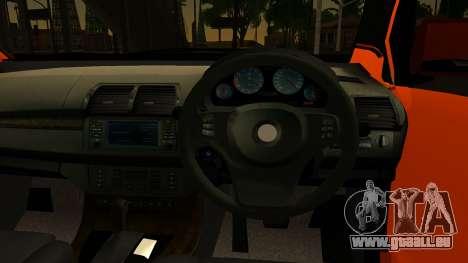 Toyota Avanza Veloz 2012 pour GTA San Andreas sur la vue arrière gauche