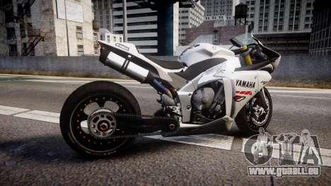 Yamaha YZF-R1 Custom PJ1 für GTA 4 linke Ansicht
