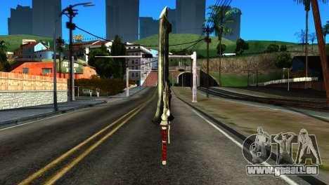 New Katana pour GTA San Andreas