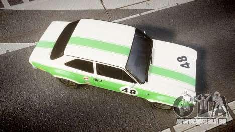 Ford Escort RS1600 PJ48 für GTA 4 rechte Ansicht