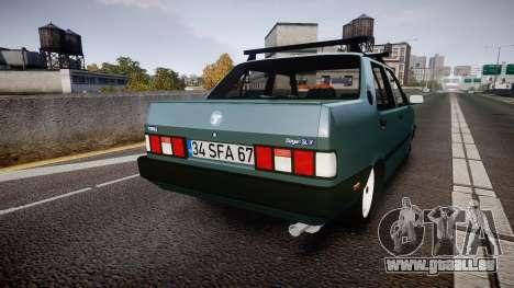 Tofas Dogan SLX für GTA 4 hinten links Ansicht