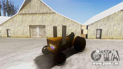 Tractor Kor4 v2 pour GTA San Andreas