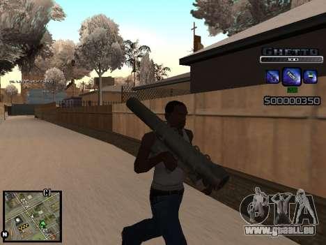 С-HUD GHETTO für GTA San Andreas her Screenshot