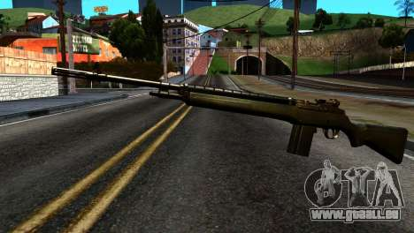 New Rifle pour GTA San Andreas