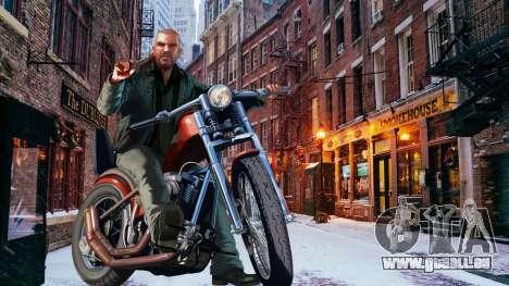 L'hiver écrans de démarrage pour GTA 4 troisième écran