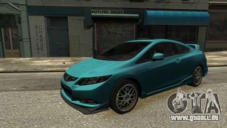 Honda Civic Si 2013 v1.0 pour GTA 4