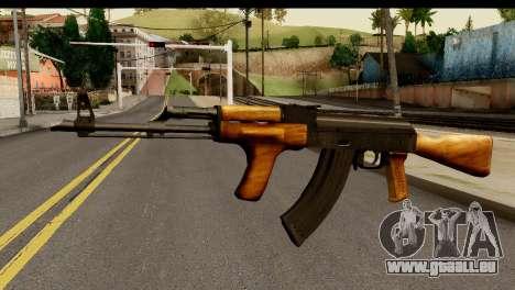 Modified AK47 für GTA San Andreas