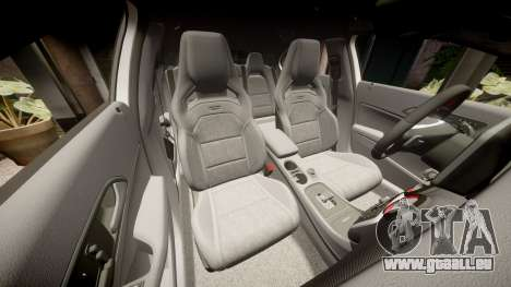 Mersedes-Benz A45 AMG PJs4 pour GTA 4 vue de dessus