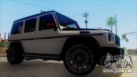 Mersedes-Benz G500 Brabus pour GTA San Andreas vue de droite