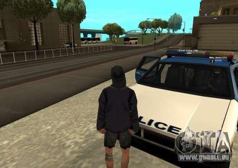 Neue HP color Spieler für GTA San Andreas