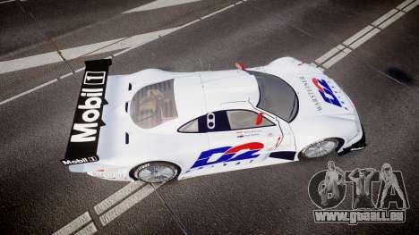 Mercedes-Benz CLK LM 1998 PJ1 pour GTA 4 est un droit
