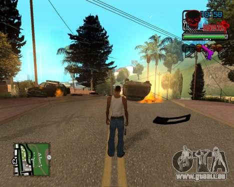 C-HUD Tawer Ghetto für GTA San Andreas