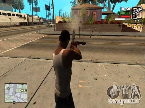 Mobile C-HUD pour GTA San Andreas troisième écran