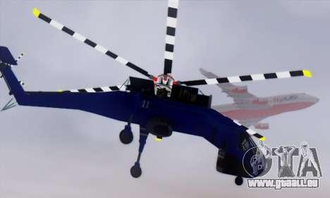 Skylift from GTA IV TBOGT pour GTA San Andreas vue intérieure