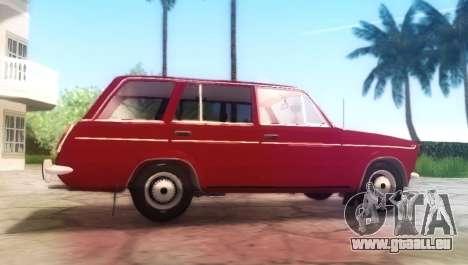 VAZ-21032 v2.0 pour GTA San Andreas sur la vue arrière gauche
