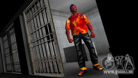 Devil Skin pour GTA Vice City