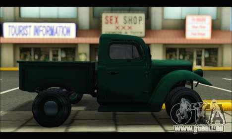 Rat Loader (GTA V) pour GTA San Andreas laissé vue