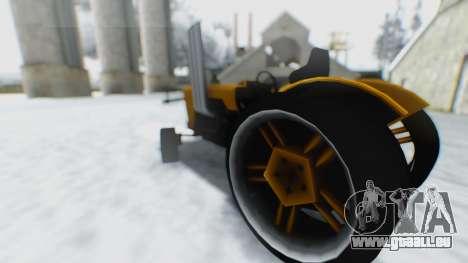 Tractor Kor4 pour GTA San Andreas vue de droite