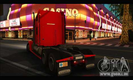 Freightliner Coronado v.2 für GTA San Andreas linke Ansicht