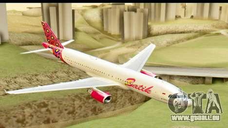 Airbus A320 Batik Air für GTA San Andreas