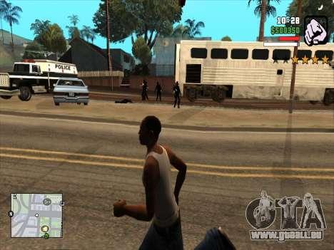 Mobile C-HUD pour GTA San Andreas