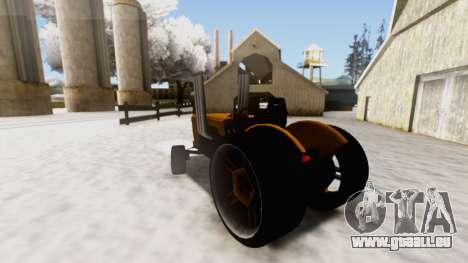 Tractor Kor4 v2 für GTA San Andreas linke Ansicht