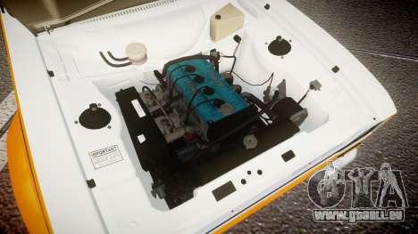 Ford Escort RS1600 PJ3 pour GTA 4 Vue arrière