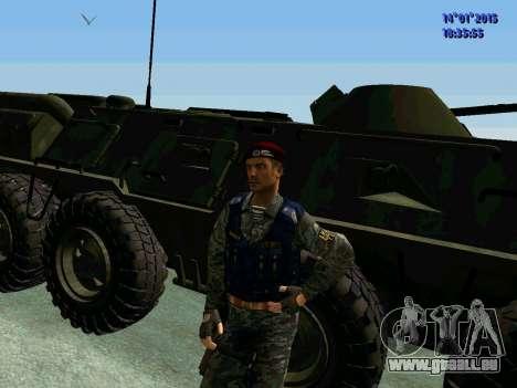 Der Vorarbeiter Des Adlers für GTA San Andreas her Screenshot