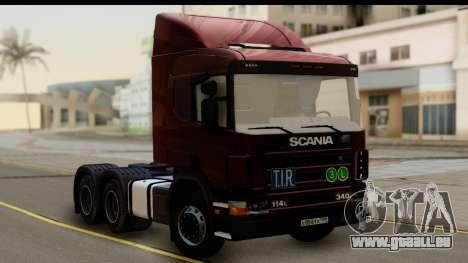 Scania P340 pour GTA San Andreas