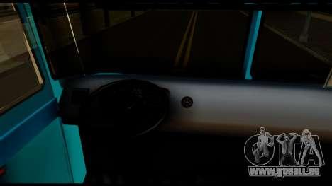 Chevrolet Bus pour GTA San Andreas vue arrière