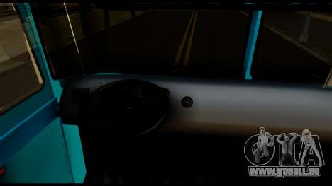Chevrolet Bus für GTA San Andreas Rückansicht