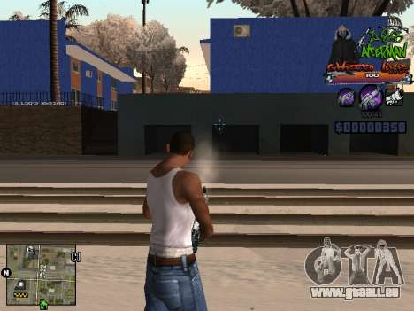 C-HUD Les Alterman für GTA San Andreas dritten Screenshot